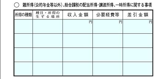 確定申告書B第二表-3